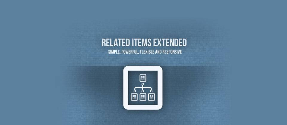 related items extended for joomla