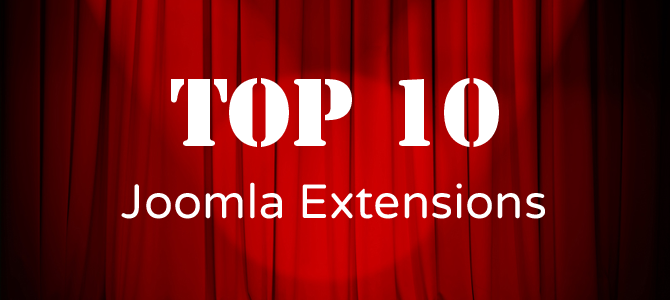 10 Must Have Joomla Extensions – 2015 Edition