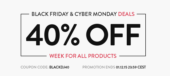 black friday sale dj extensions