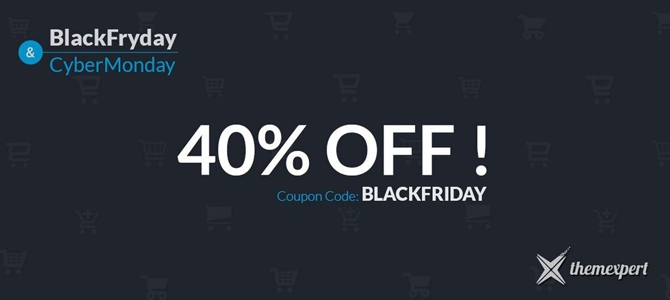 black friday sale at themexpert